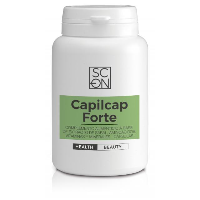 Complemento alimenticio a base de extracto de sabal, aminoácidos, vitaminas y minerales.