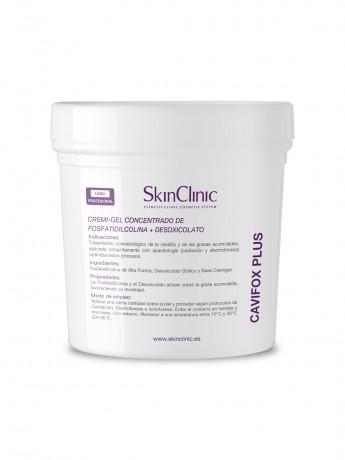 Cremigel concentrado anticelulítico y quema grasas para aplicación con cavitación y electroforesis.
