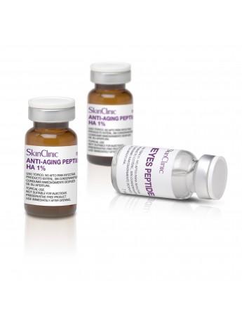 Vial para el cuidado de arrugas, con Péptidos Biomiméticos.