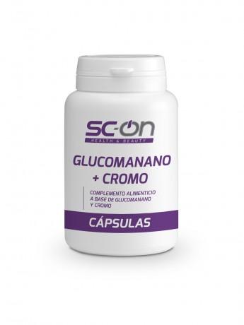Complemento alimenticio a base de Glucomanano y Cromo.