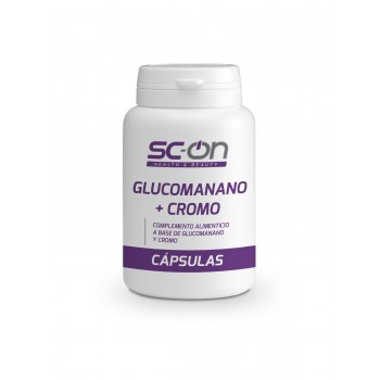 Glucomanano + Cromo