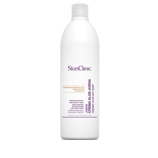 Jabón hidratante para el cuidado de pieles secas, delicadas y atópicas.