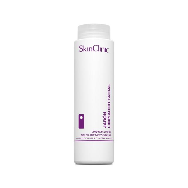 Jabón facial para la limpieza diaria de pieles mixtas o grasas.