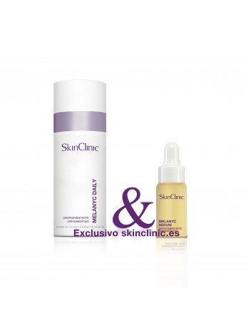 Crema despigmentante de uso diario y pieles sensibles.
