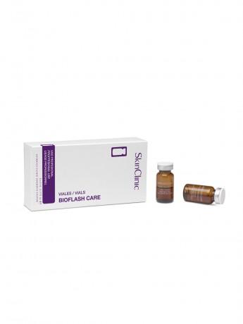 Vial con aporte de activos para el cuidado de la piel.